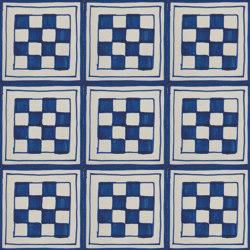 LR CV Antico Vietri Scacchi blu | Carrelage céramique | La Riggiola