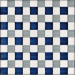 LR CO Dama Dritta Bicolor 5 Blu Grigio | Carrelage céramique | La Riggiola