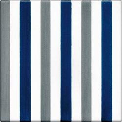 LR CO Righe Bicolor 6 Blu Grigio | Carrelage céramique | La Riggiola