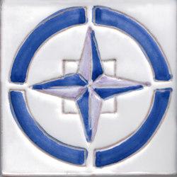 LR CO Cosmos 5 lilla blu | Carrelage céramique | La Riggiola