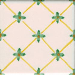 LR PO Linee e fiore pennellato   Carrelage céramique   La Riggiola