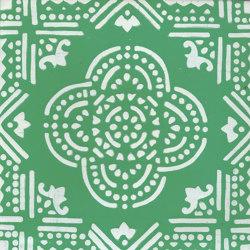LR SC Madras Fondo Verde Decoro Bianco   Ceramic tiles   La Riggiola