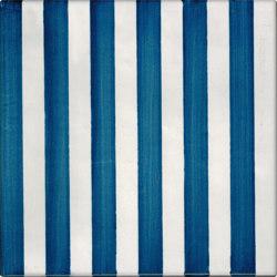 LR CO Righe Monocolore 6 Blu   Ceramic tiles   La Riggiola
