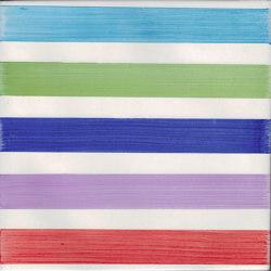 LR PO Righe Multicolor Largo | Ceramic tiles | La Riggiola