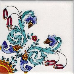 LR PO Rosone fiorato | Ceramic tiles | La Riggiola
