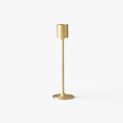 &Tradition Collect | Candleholder SC59 Brushed Brass | Candlesticks / Candleholder | &TRADITION