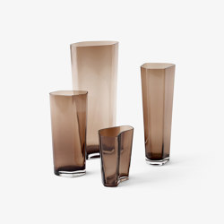 &Tradition Collect | Glass Vases SC35-SC38 Caramel | Vases | &TRADITION