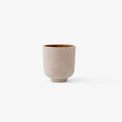 &Tradition Collect | Planter SC69 Ochre | Plant pots | &TRADITION
