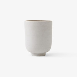 &Tradition Collect | Planter SC72 Silver | Plant pots | &TRADITION