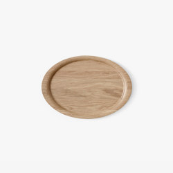 &Tradition Collect | Tray SC64 Lacquered Oak | Trays | &TRADITION