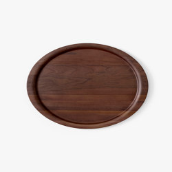 &Tradition Collect | Tray SC65 Lacquered Walnut | Trays | &TRADITION