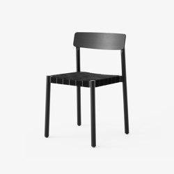 Betty TK1 Black w. Black Linen | Chairs | &TRADITION