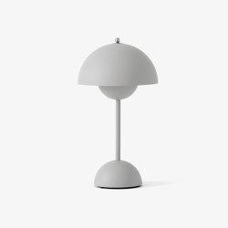 Flowerpot VP9 Matt Light Grey | Table lights | &TRADITION