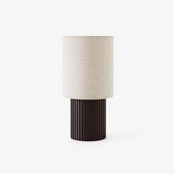 Manhattan SC52 Bronzed Brass & Canvas | Table lights | &TRADITION
