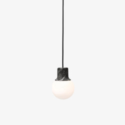 Mass Light NA5 Nero Marquina Marble | Suspended lights | &TRADITION