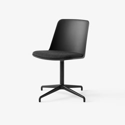 Rely HW12 & HW17 Black w. Black & Re-wool 198 | Chairs | &TRADITION