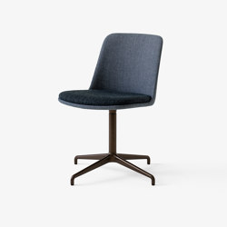 Rely HW15 & HW20 Bronzed w. Sunniva 1079 & Helia 933 | Chairs | &TRADITION