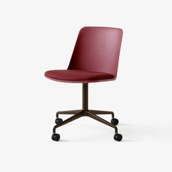 Rely HW22 Bronzed w. Red Brown & Canvas 576 | Chairs | &TRADITION