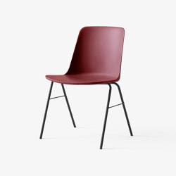 Rely HW26 Black w. Red Brown | Chairs | &TRADITION