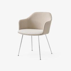 Rely HW37 Chrome w. Karakorum 003 & Karakorum 001 | Chairs | &TRADITION