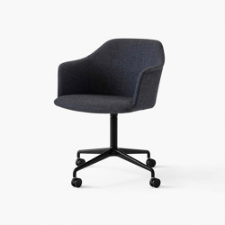 Rely HW50 Black w. Re-Wool 198 | Chairs | &TRADITION
