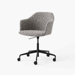 Rely HW55 Black w. Zero 011 | Chairs | &TRADITION