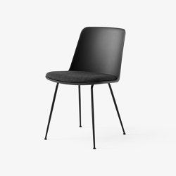 Rely HW7 Black w. Black & Re-wool 198 | Chairs | &TRADITION