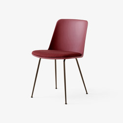 Rely HW7 Bronzed w. Red Brown & Canvas 576 | Chairs | &TRADITION