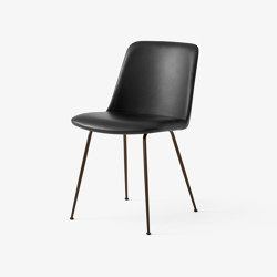 Rely HW8 Black w. Black Silk Leather | Chairs | &TRADITION