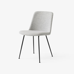 Rely HW8 Black w. Hallingdal 110 | Chairs | &TRADITION