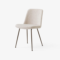 Rely HW9 Bronzed w. Serafino Lino | Chairs | &TRADITION