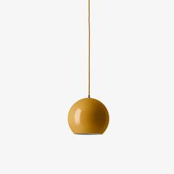 Topan VP6 Mustard | Suspended lights | &TRADITION