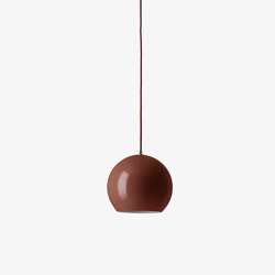 Topan VP6 Red Brown | Suspended lights | &TRADITION