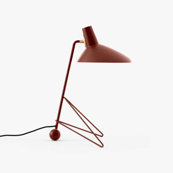 Tripod HM9 Maroon   Table lights   &TRADITION