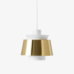 Utzon JU1 White & Brass | Suspended lights | &TRADITION