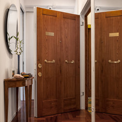 Tekno | The safety door with concealed hinges | Entrance doors | Oikos – Architetture d'ingresso