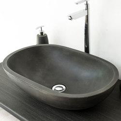 Novara Dusk Grey Concrete Basin - Sink - Vessel - Washbasin | Wash basins | ConSpire