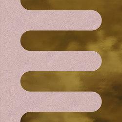 Filippo Soul Garland Coral Oro | Keramik Fliesen | VIVES Cerámica