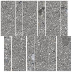 Pangea Mosaico Amasia AB|C Gris | Ceramic tiles | VIVES Cerámica