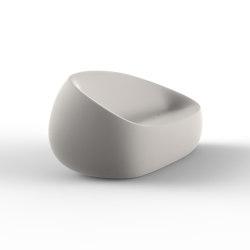 Stone lounge chair   Armchairs   Vondom