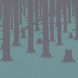 Ai piedi della foresta Menta | Wall art / Murals | TECNOGRAFICA