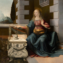 Leonardo Da Vinci: Annunciation | Wall art / Murals | TECNOGRAFICA