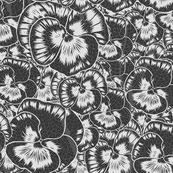 Aurora Floreale Cracked Anthracite | Wall art / Murals | TECNOGRAFICA
