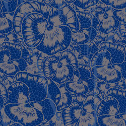 Aurora Floreale Cracked Blue | Wall art / Murals | TECNOGRAFICA