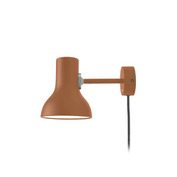 Type 75™ Mini Wall light, Margaret Howell Edition, Sienna  - With cable and plug | Wall lights | Anglepoise
