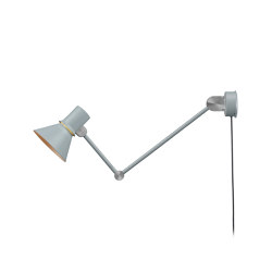 Type 80™ Wall Light W3 Grey Mist with Cable and Plug | Wall lights | Anglepoise