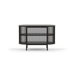 Petit Bastone Sideboard 120 – Black | Cabinets | Poiat