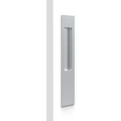 Mardeco 8102 M-Series Flush Pull (long Plate 255mm) no Key hole Satin Chrome | Flush pull handles | Mardeco International Ltd.