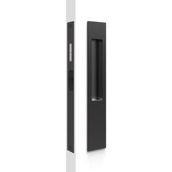 Mardeco 8105 M-Series Snib Lock Set Exterior plain plate Black | Flush pull handles | Mardeco International Ltd.