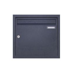 Basic | Edelstahl Unterputzbriefkasten BASIC Plus 382XU UP - RAL nach Wahl 100mm Tiefe | Mailboxes | Briefkasten Manufaktur